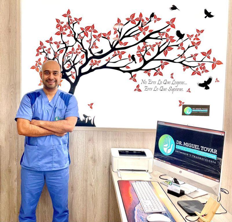 Dr. Miguel Tovar: Mano a mano con la vida: la perseverancia es la clave
